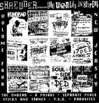 COMP: THE WORLD'S IN SHREDS VOLUME FOUR-NEWJERSEY [1989] SHREDDER SHRED SIX