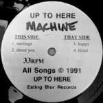 MACHINE [1991] EATING BLUR R-15132 LABEL