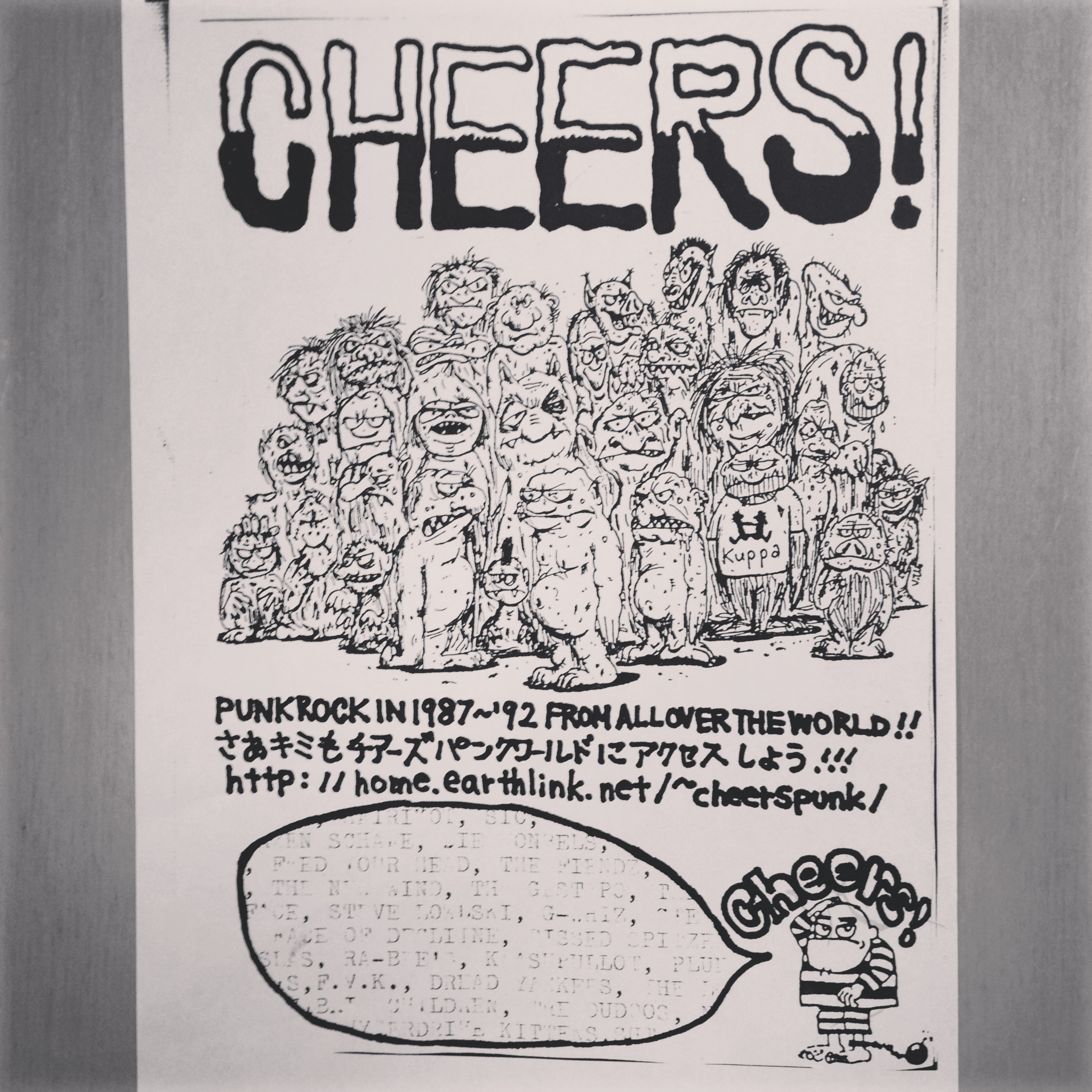 CHEERS PUNK FLYER 1 [2000]