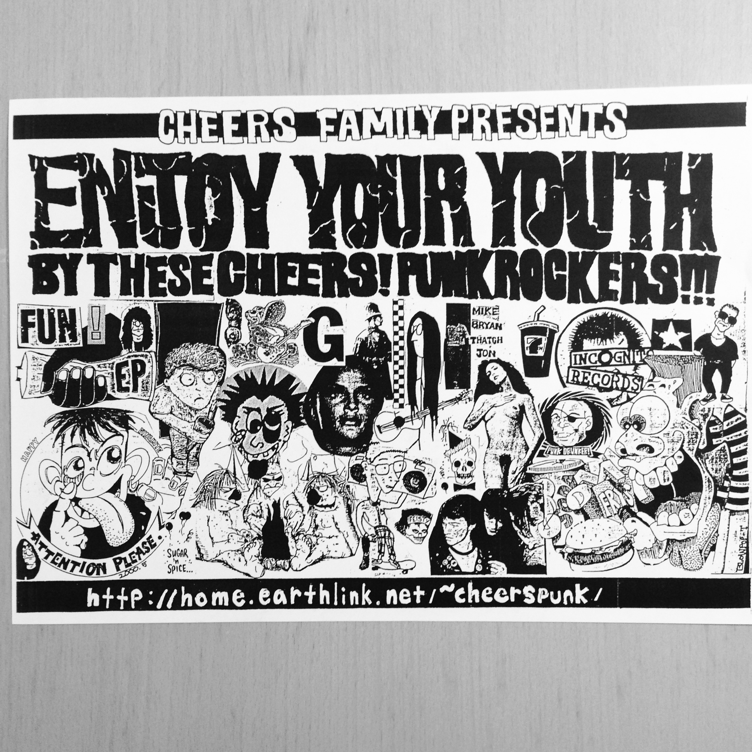 CHEERS PUNK FLYER [2000]