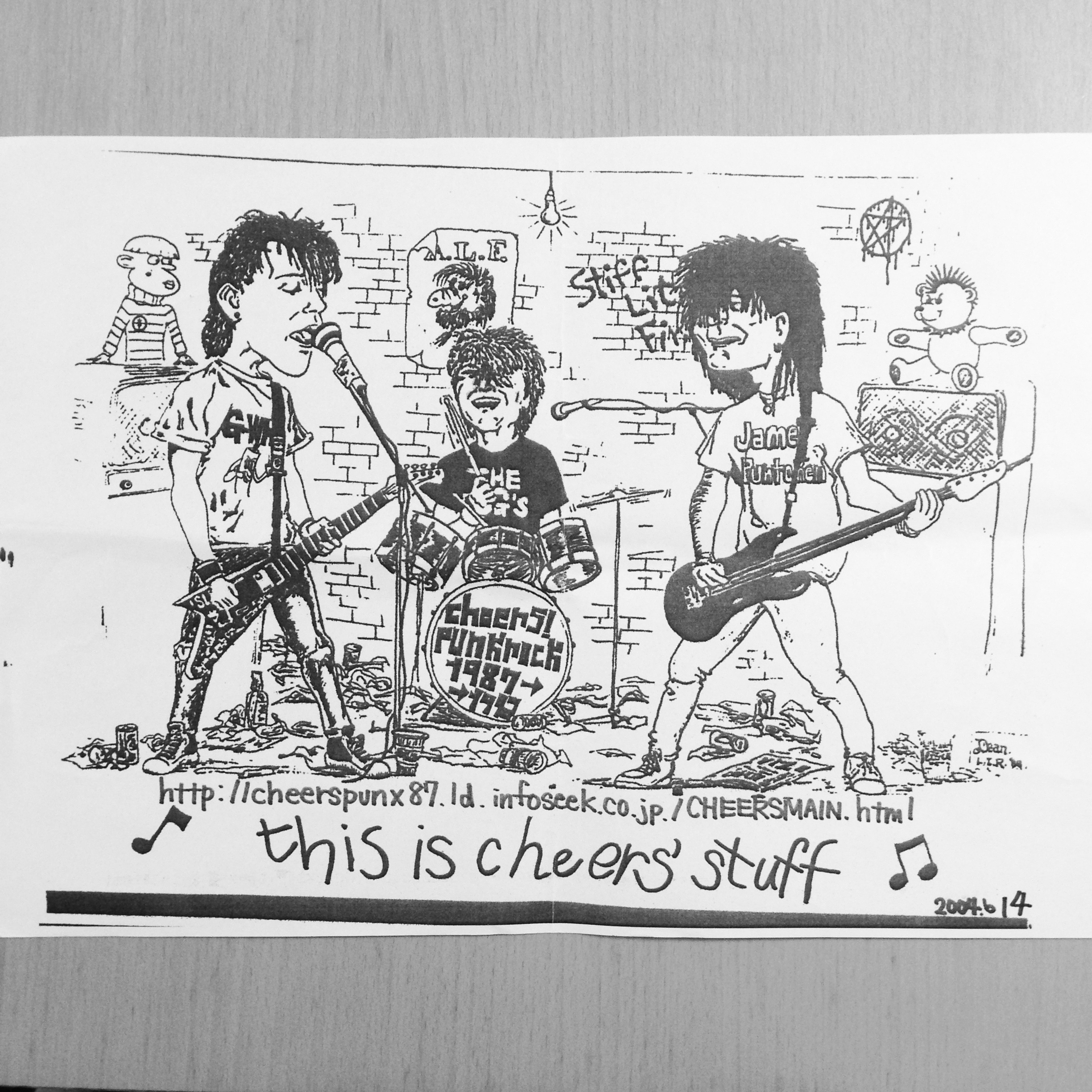 CHEERS PUNK FLYER-5 [2004]